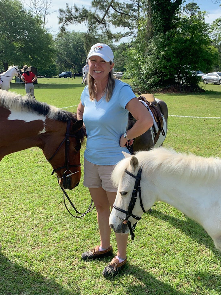 Janet With Lesson Ponies